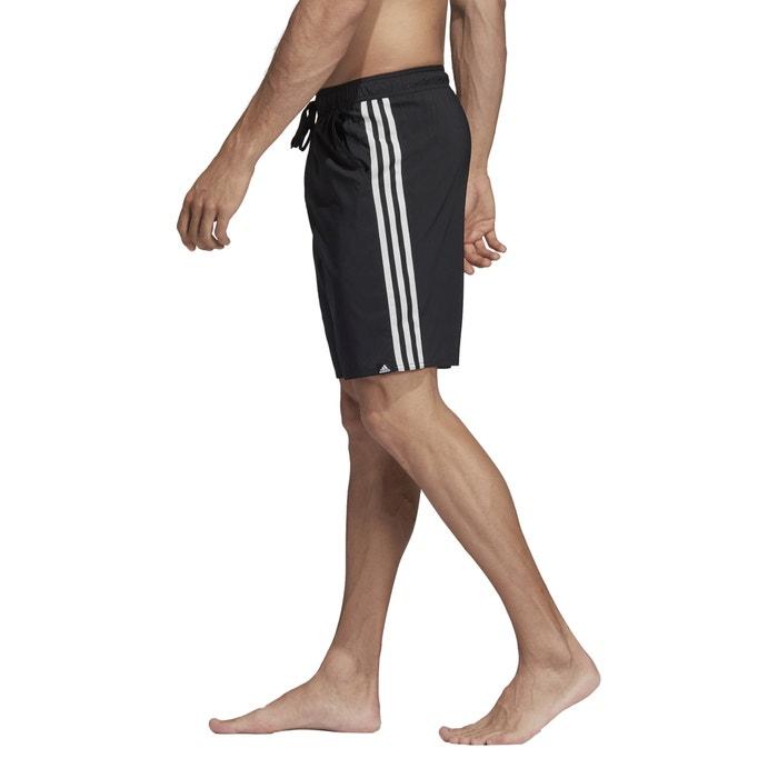 cb0c29a7b Calções de banho, 3-stripes preto Adidas Performance | La Redoute