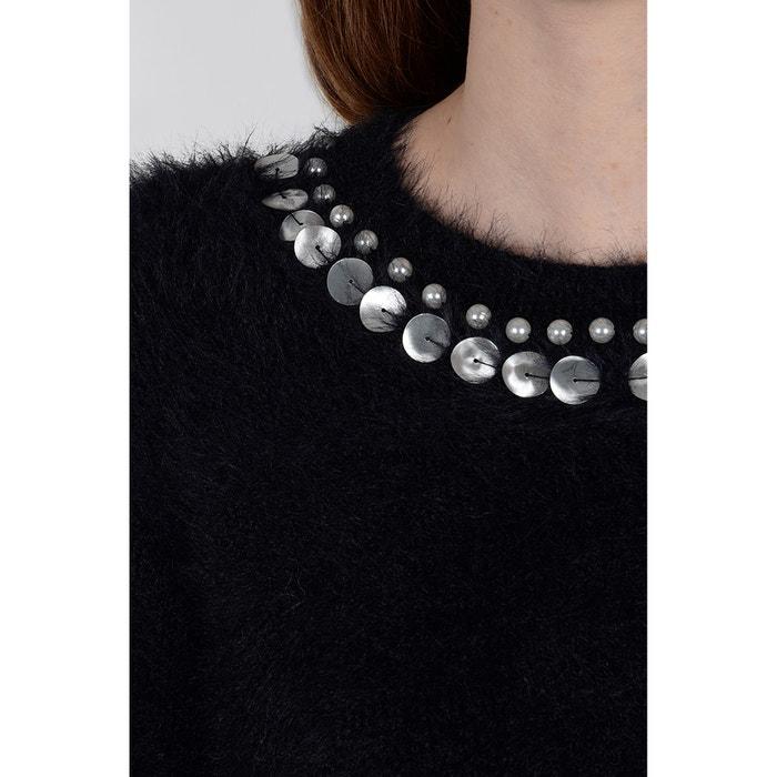 fino cuello con BRACKEN de MOLLY Jersey punto redondo HqUawH60x