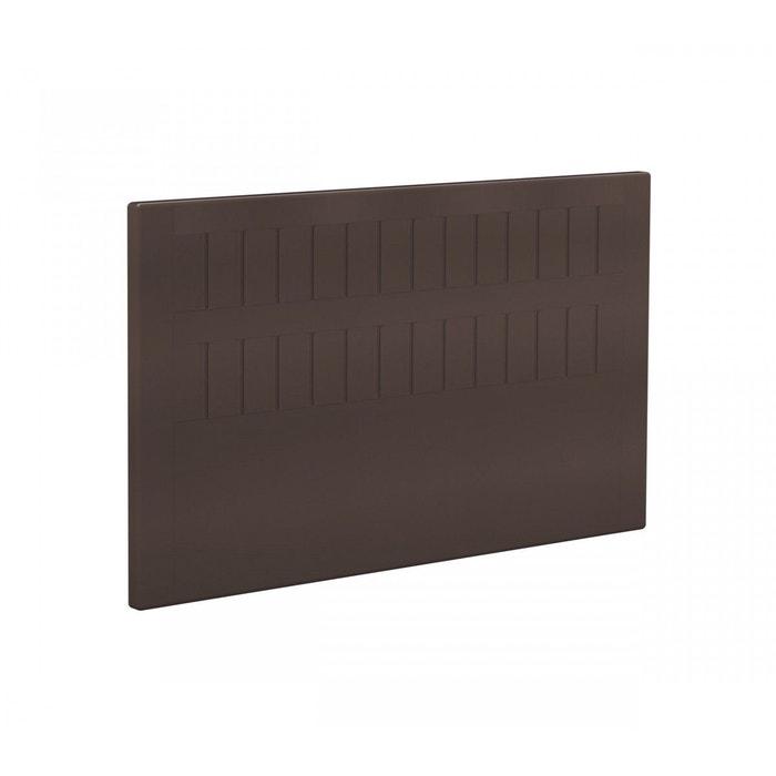 t te de lit bultex stromboli enduit chocolat marron bultex la redoute. Black Bedroom Furniture Sets. Home Design Ideas