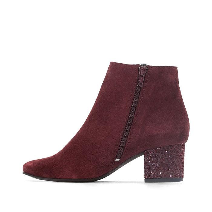 La Redoute Boots cuir détail paillettes Vente Avec Paypal Vente Pas Cher Explorer Paiement De Visa Pas Cher Sast Pas Cher En Ligne 05m0Rq