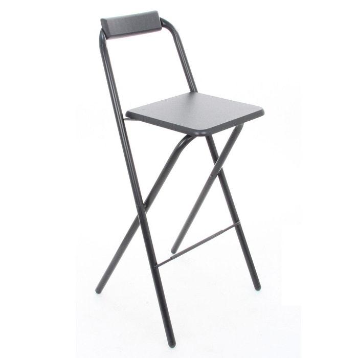 chaise de bar pliante louna atmosphera la redoute. Black Bedroom Furniture Sets. Home Design Ideas