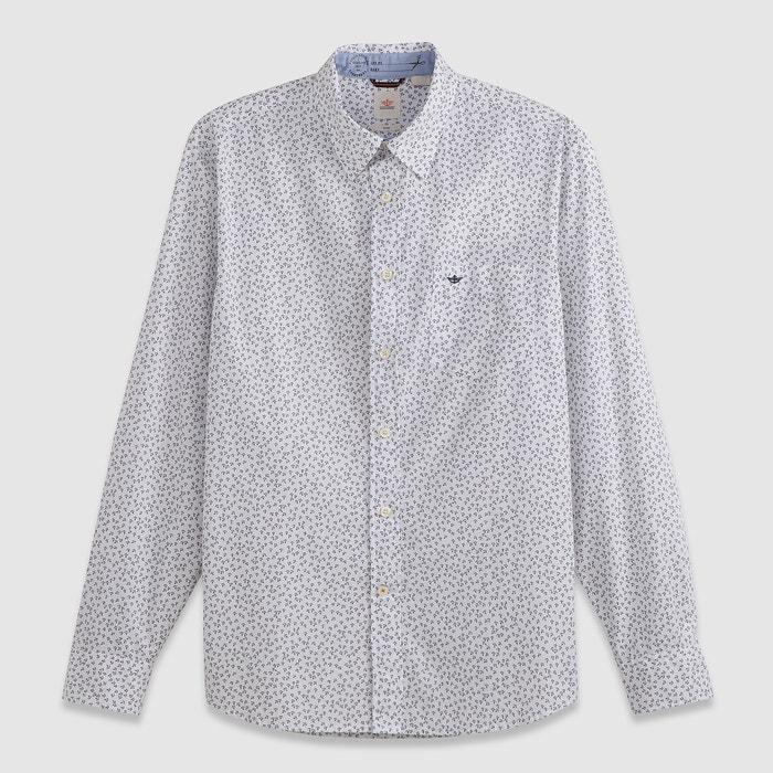 Image LAUNDERED POPLIN Printed Shirt DOCKERS