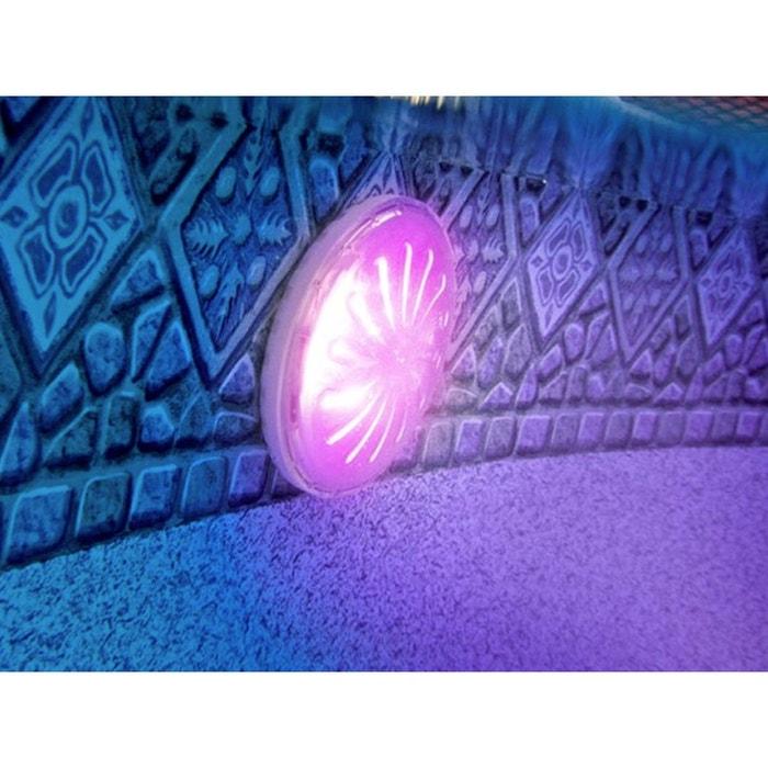projecteur led couleurs pour piscine acier hors sol gre la redoute. Black Bedroom Furniture Sets. Home Design Ideas