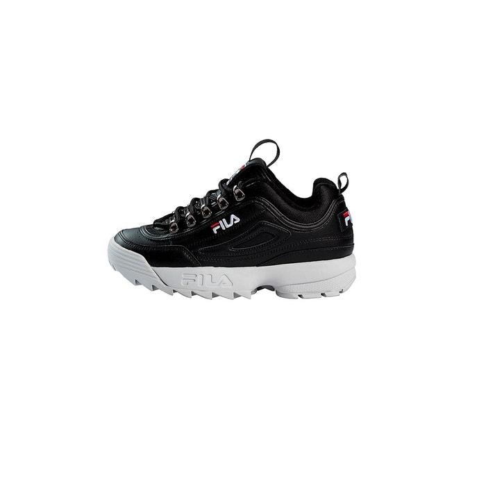 Fila Disruptor II noire et blanche Chaussures Baskets