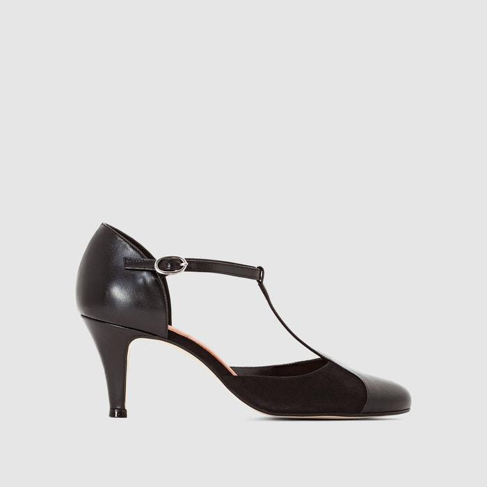 Sapatos em pele com presilha 10714 JONAK