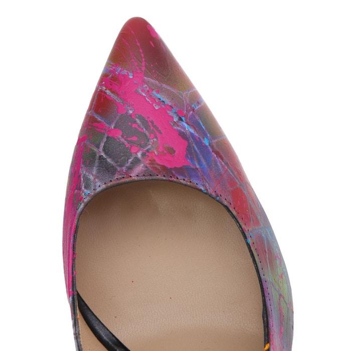 High heels multicolore Janiko