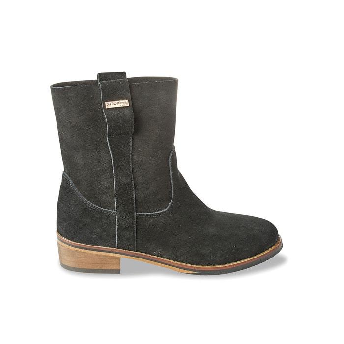Curcuma Leather Ankle Boots  LES TROPEZIENNES PAR M.BELARBI image 0