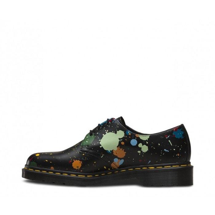 chaussures lacets dr martens splatter smooth 1461 22184001 noir dr martens la redoute. Black Bedroom Furniture Sets. Home Design Ideas