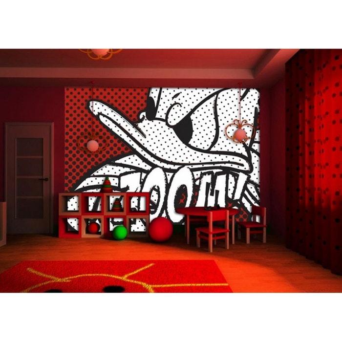 papier peint donald duck disney 360x255 cm naturel worlds apart la redoute. Black Bedroom Furniture Sets. Home Design Ideas