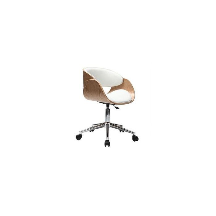 Fauteuil de bureau petit prix bent fauteuil bureau miliboo for Bureau petit prix