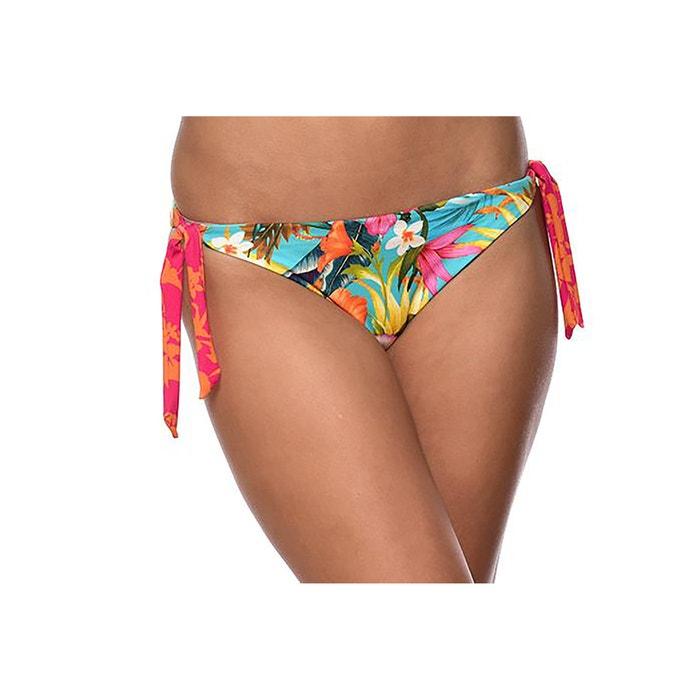 Culotte per bikini double face fiori/righe  BANANA MOON image 0