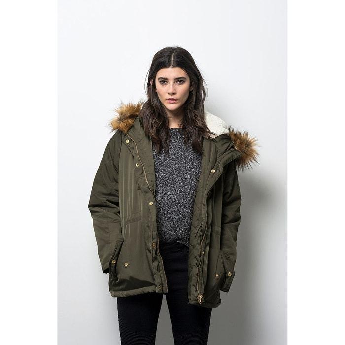 Manteau parka à capuche mi-long oversize  COMPANIA FANTASTICA image 0