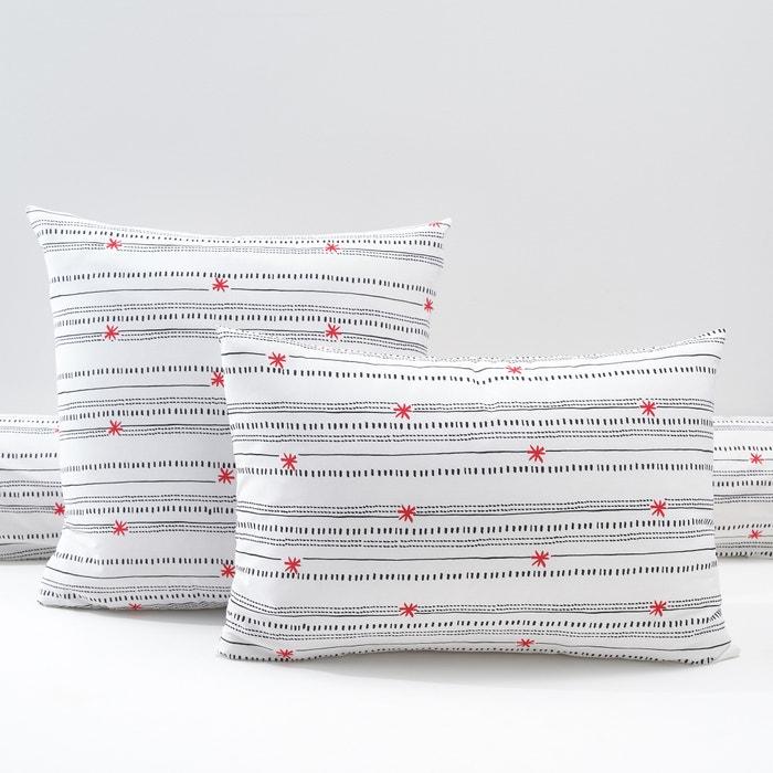 Image Taie imprimée, percale de coton, Meknes La Redoute Interieurs