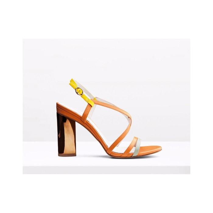Sandale en cuir - elsa  multicolor What For  La Redoute