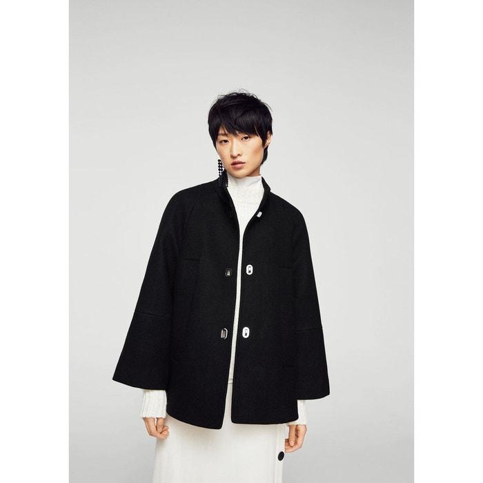 Manteau déstructuré en laine  MANGO image 0