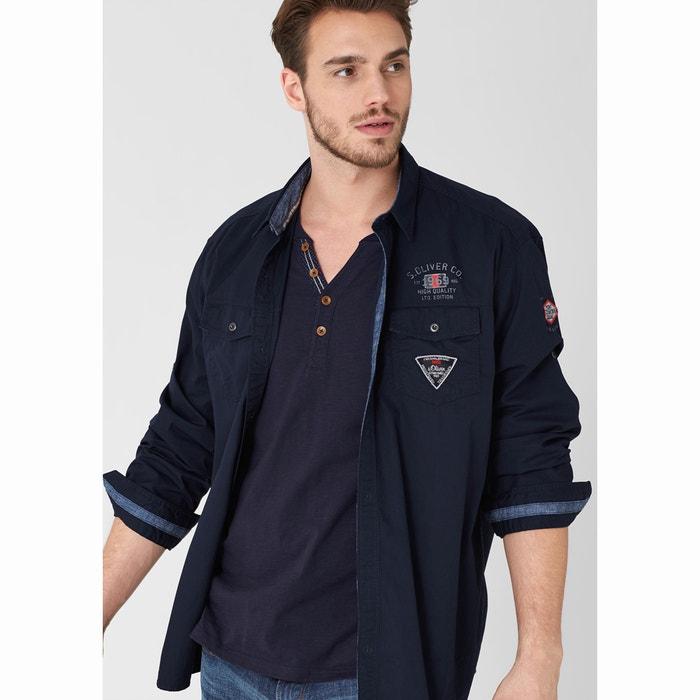 Camisa de mangas compridas S OLIVER