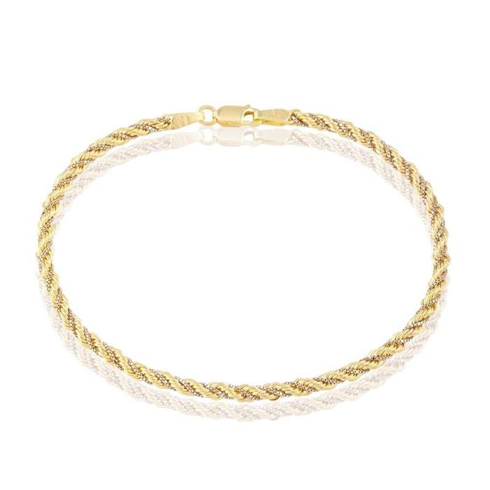 Bracelet or bicolore Histoire D'or | La Redoute Livraison Gratuite Sast IKNOJPukP