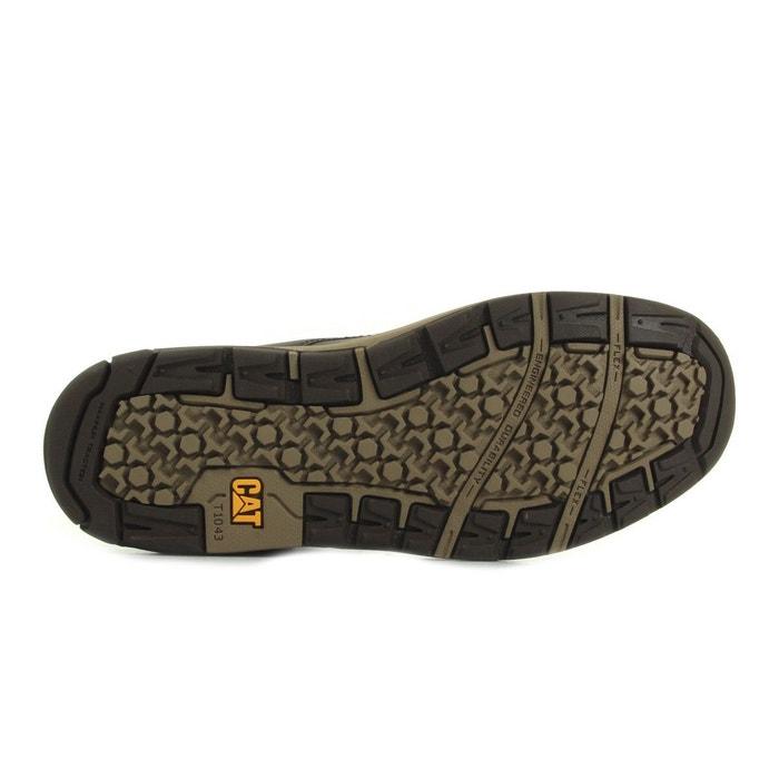 Baskets montantes cuir colfax mid marron Caterpillar