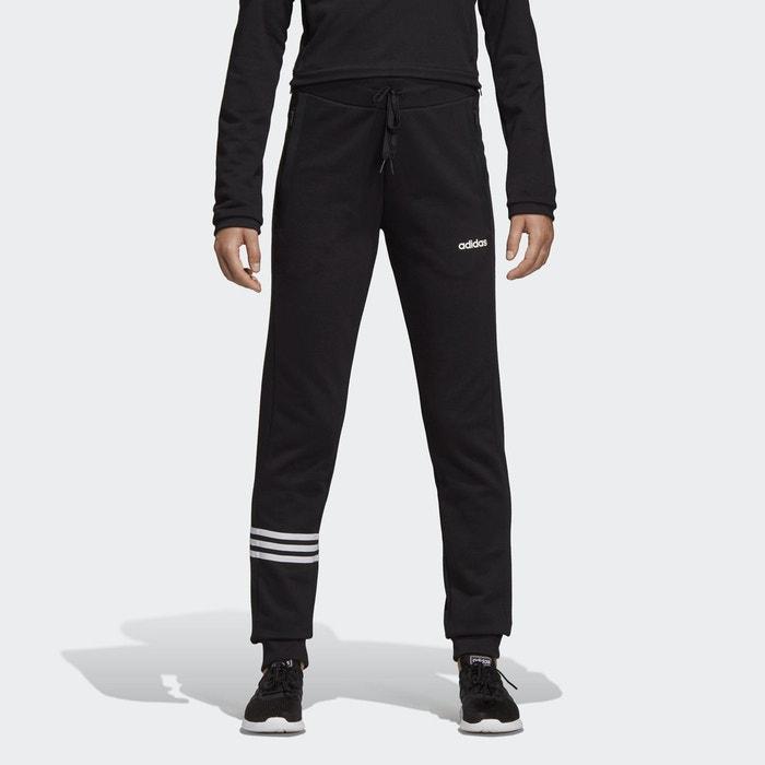 Pantalon de sport poches zippées noir Adidas Performance  5d2b19301af