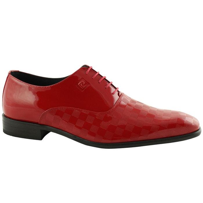 Chaussure pierre cardin en cuir jasper rouge Pierre Cardin