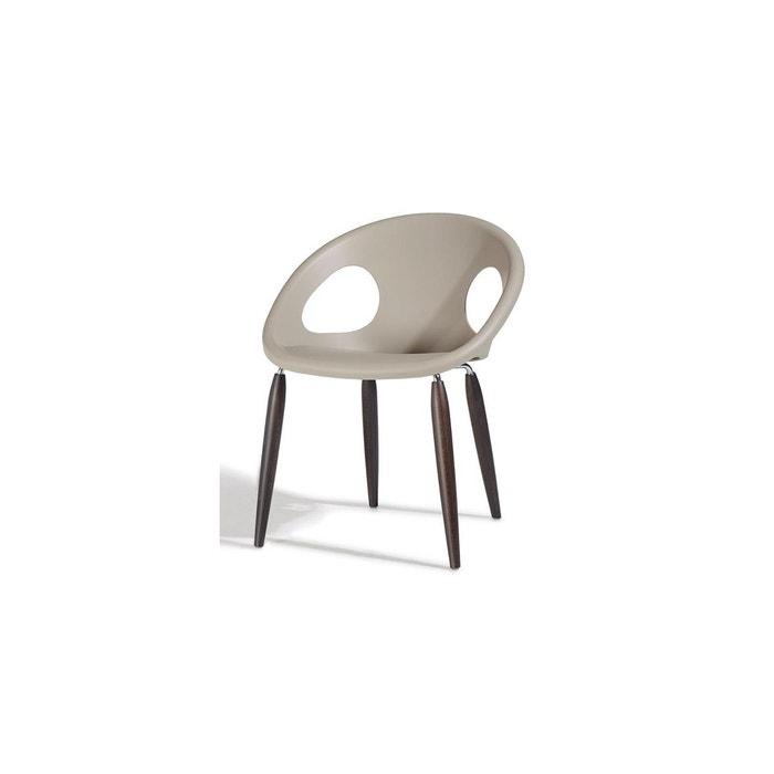 Chaise - pieds bois naturel - NATURAL DROP - vendu à l'unité - déco SCAB DESIGN