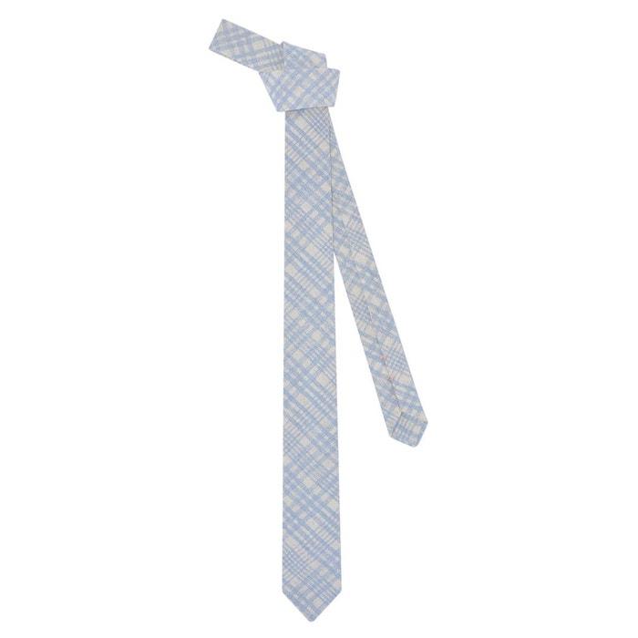 Meilleurs Prix Discount 100% Original Cravate à carreaux bleu ciel bleu ciel Ikonizaboy | La Redoute sMpXD