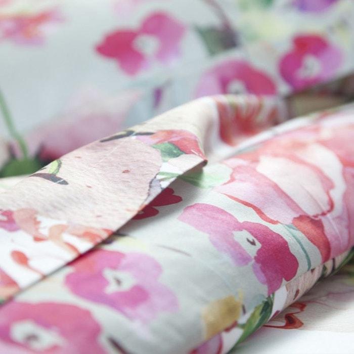 drap plat juliette rose tradition des vosges la redoute. Black Bedroom Furniture Sets. Home Design Ideas