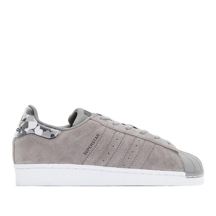 premium selection 83aec 06969 Superstar j trainers , grey, Adidas Originals   La Redoute