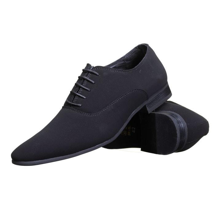 Galax Gh1267 M  Lamy Noir - Chaussures Richelieu Homme