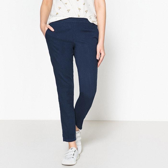 Paolo 100% Cotton Cigarette Trousers  HARTFORD image 0