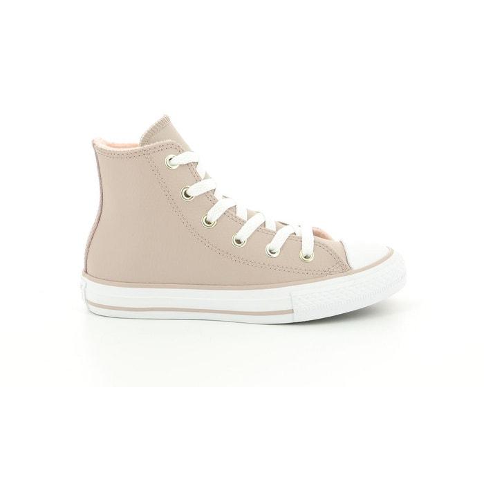 Sneakers haute Cuir Enfant Chuck Taylor All Star Hi Ev