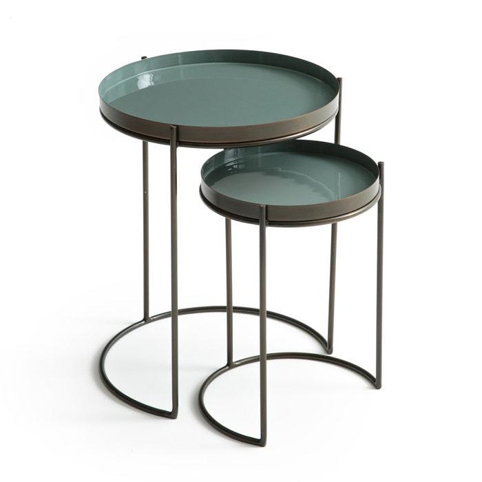 Confezione da 2 tavolino in metallo, Picabea  AM.PM. image 0