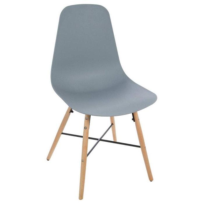 Chaise scandinave esco gris decoratie la redoute for La redoute chaise