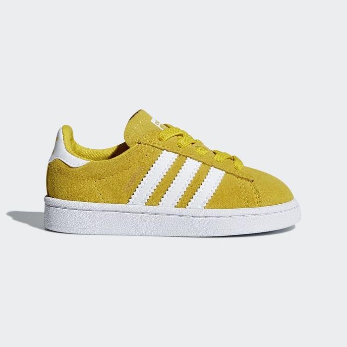 Chaussures Adidas Campus jaunes pour bébé 9Xszxq