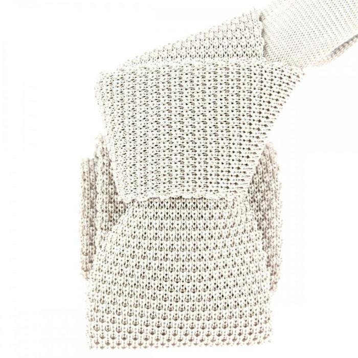 Cravate tricot perla, soie, tony & paul gris Tony Et Paul | La Redoute