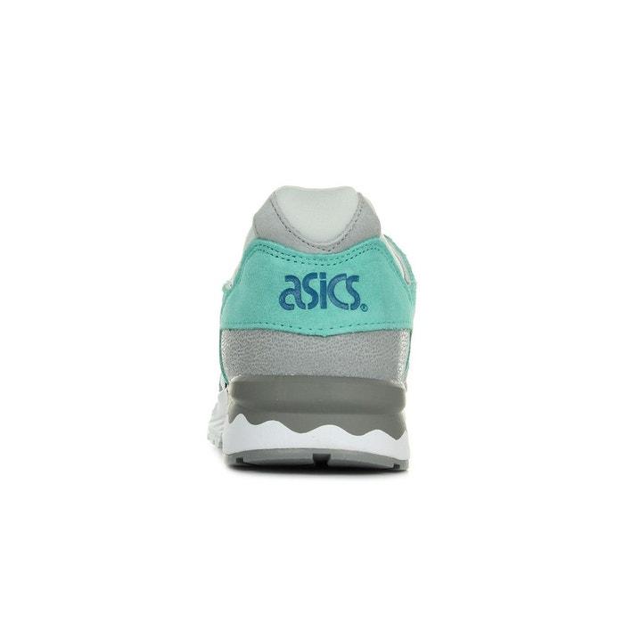 Baskets gel lyte v light grey/white gris, vert clair, blanc Asics