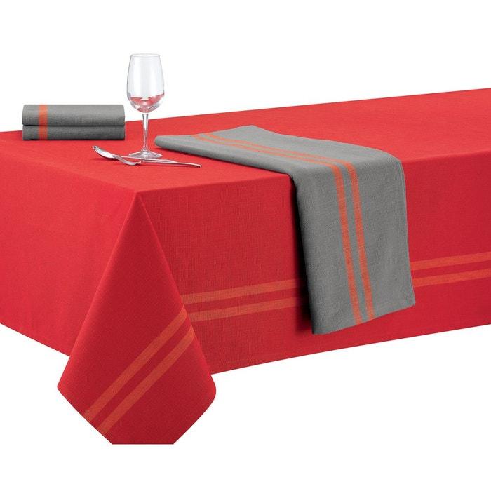 nappe folk rouge winkler la redoute. Black Bedroom Furniture Sets. Home Design Ideas