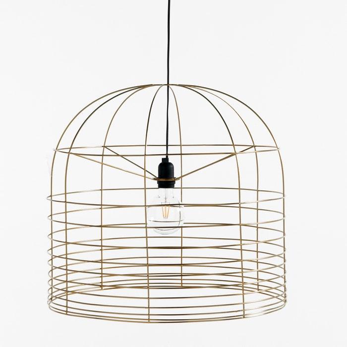 afbeelding Hanglamp in metaal, elektrische kabel niet bijgeleverd, Ø55 cm BRIGITTE BARDOT X LA REDOUTE