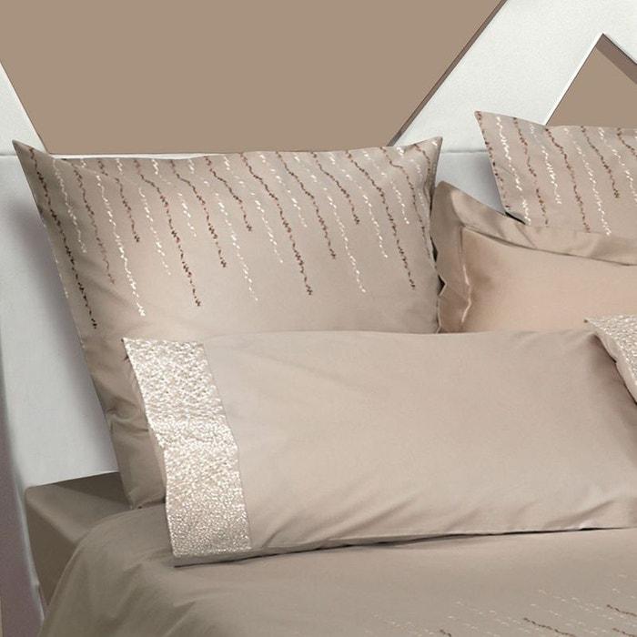 taie d 39 oreiller rice pudding beige beige garnier thiebaut. Black Bedroom Furniture Sets. Home Design Ideas