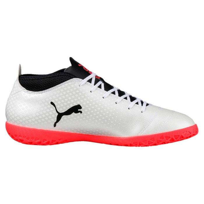 Chaussure de foot one 17.4 it indoor pour homme white-black-coral Puma
