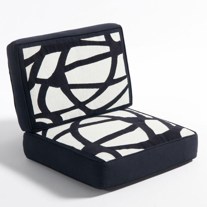 Image Coussin en toile de coton pour fauteuil Dilma AM.PM.