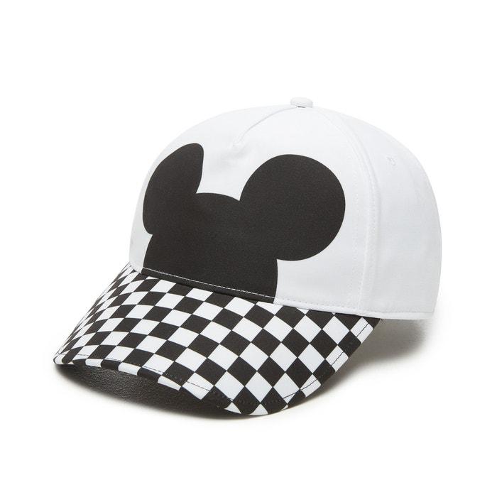 Gorra checkerboard mickey court side negro Vans  b6b115a8c88