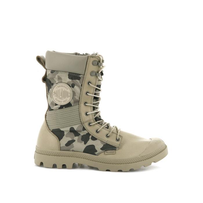 Laarzen met veters Tactical OPS Camo WP  PALLADIUM image 0