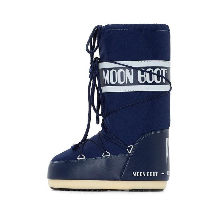 Bottes fourrées nylon marine Moon Boot