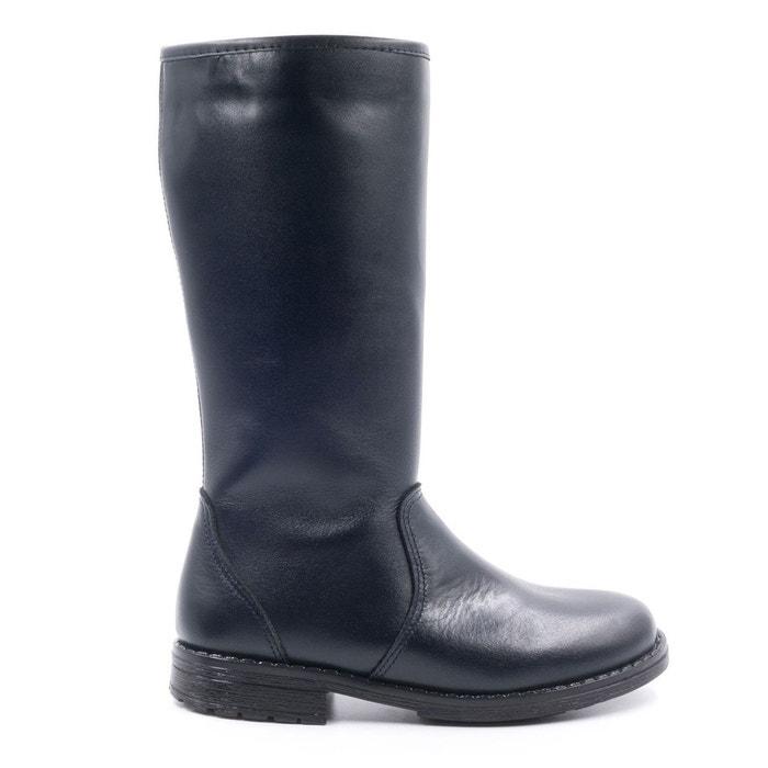 plus tard design distinctif ramassé Boni Cristobal - bottes fille en cuir fourrées en laine de mouton