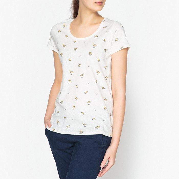 T-shirt scollo rotondo con motivo fantasia TESSON  HARTFORD image 0
