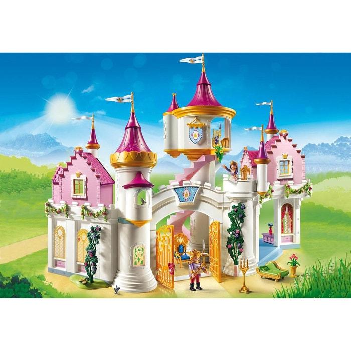 Playmobil 6848 princess : grand château de princesse couleur unique ...