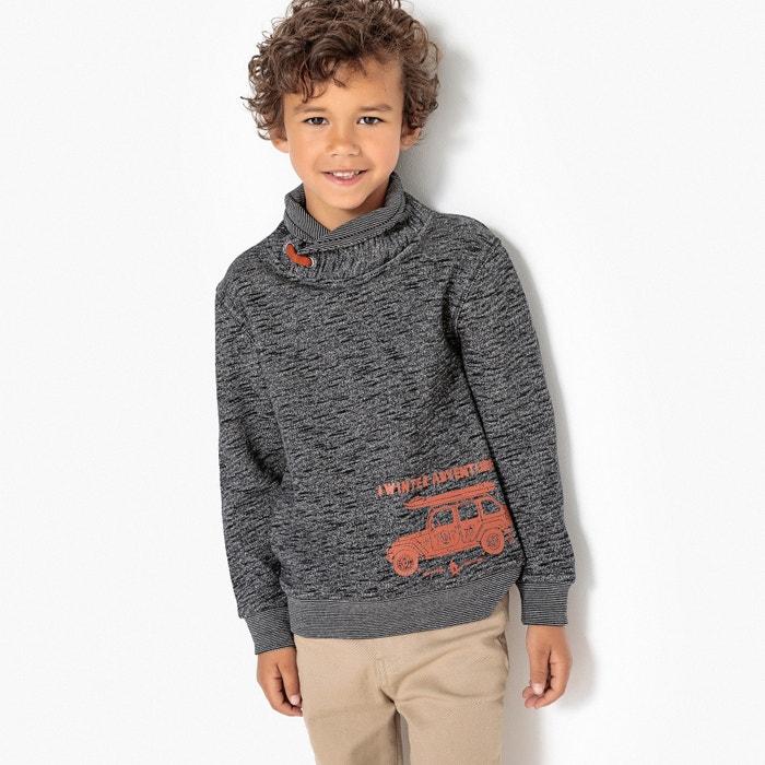 Snood Sweatshirt, 3-12 Years  La Redoute Collections image 0