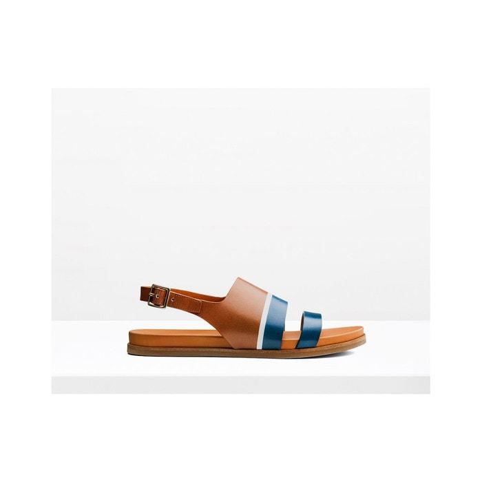 Sandales plates en cuir Best-seller Prix Pas Cher F9ofbW51