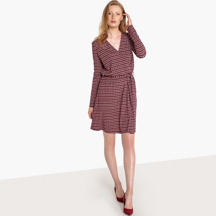 geom 233;trico punto Redoute cruzado Collections La Vestido con estampado de wH4zqF8Fx